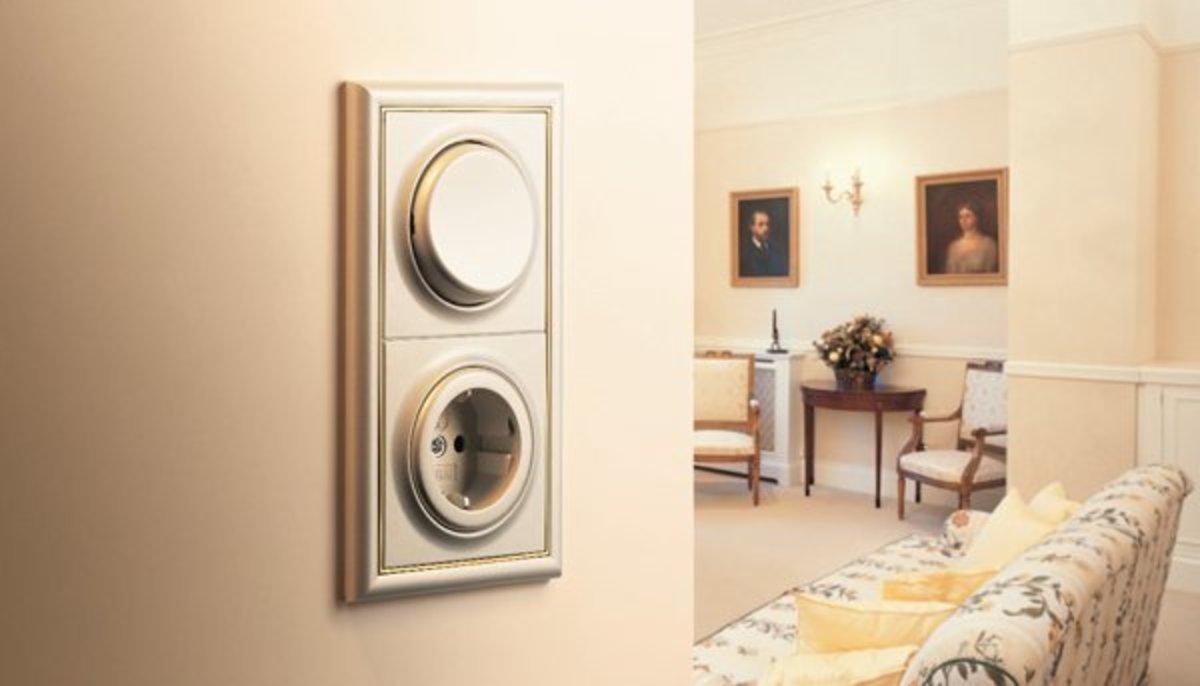 Красивые выключатели и розетки в интерьере фото